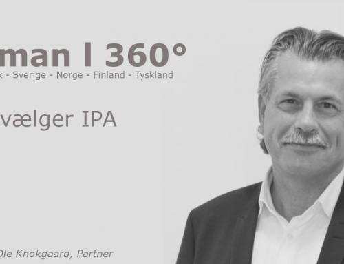 Det skandinaviske rekrutterings bureau Human360 – Vælger IPA rekrutteringsanalyserne og IPA 360° Cockpit