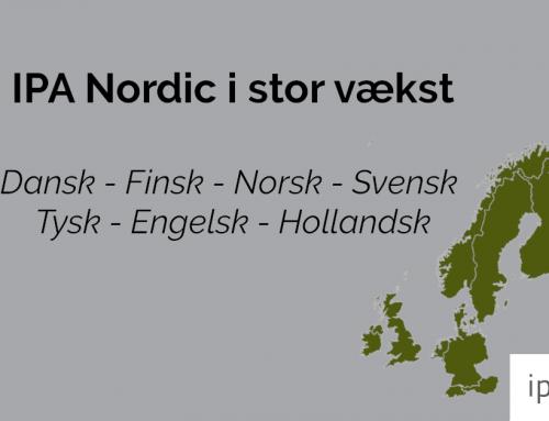 Stor vækst hos personlighedsanalyse-virksomheden IPA Nordic – nu understøttes 7 sprog